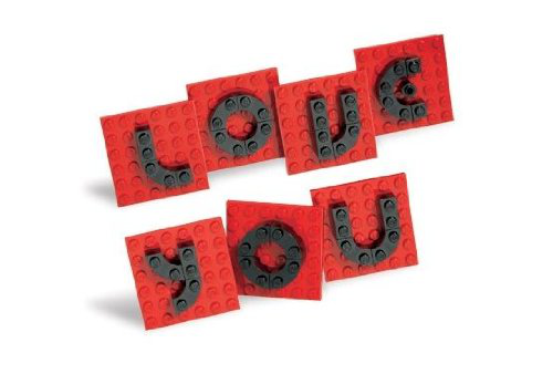Lego ® Valentine Letter Set * 40016 * 41 Piece Exclusive Lego Valentine Set